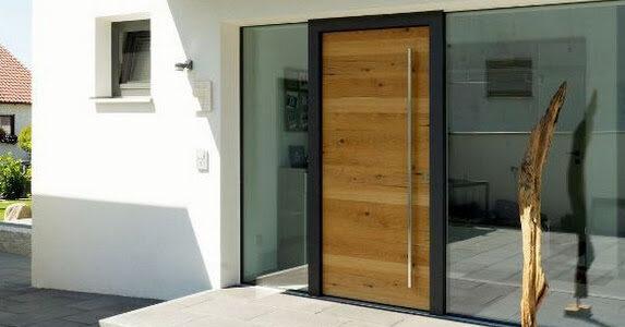 Stix Haustüre Holz Eingang